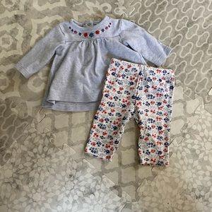 Little Me soft cotton set